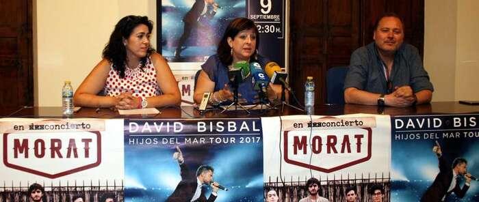 Morat, el 7 de septiembre, y David Bisbal, el sábado 9, conciertos principales de las Fiestas de Villarrubia de los Ojos