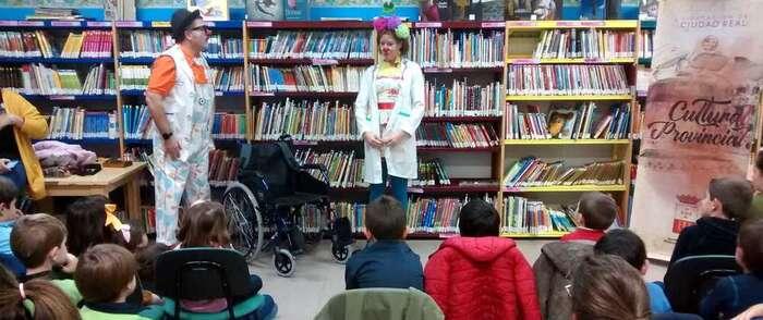 Éxito de las actividades de la Biblioteca municipal de Villarrubia de los Ojos para celebrar el Día de la Discapacidad