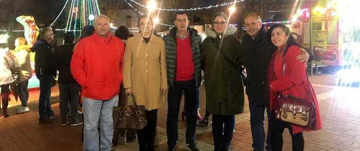 El Ayuntamiento de Villarrubia de los Ojos refuerza la iluminación navideña y la MiniFeria en la Plaza del Pato