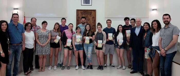 Alumnos de New Jersey han visitado Quintanar durante estos días