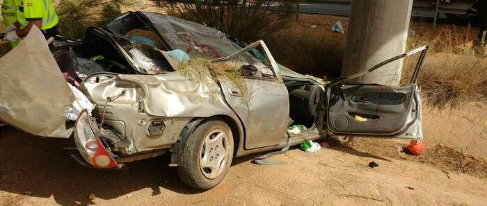 Fallece en accidente de tráfico una persona y otra resulta herida en la A-43 a la altura de Carrión de Calatrava