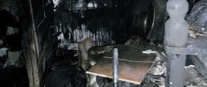 Dos mujeres resultan intoxicadas por el incendio de una vivienda originado en un brasero en Puertollano