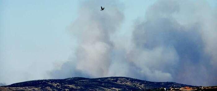 Declarado un incendio en una zona agrícola de Poblete (Ciudad Real)
