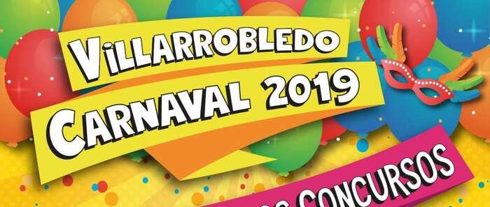 Abierto en Villarrobledo el plazo de inscripción para el concurso de comparsas y grupos locales adultos e infantiles del Carnaval 2019