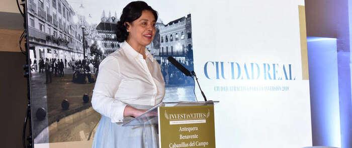 """Pilar Zamora defiende Ciudad Real como """"ciudad de realidades"""" para la inversión el II Foro """"Invest in Cities"""""""