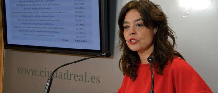 2,27 millones de euros  para la realización de una docena de obras en Ciudad Real