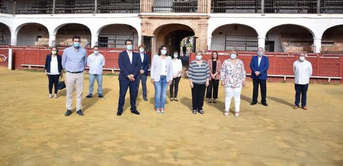 La Junta incorporará el hotel de la plaza de toros de Almadén a la Red de Hospederías cuando abra sus puertas tras su rehabilitación