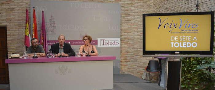 """Toledo se convertirá en """"la ciudad de la poesía"""" en el V Festival 'Voix Vives' que cuenta con la colaboración del Ayuntamiento"""