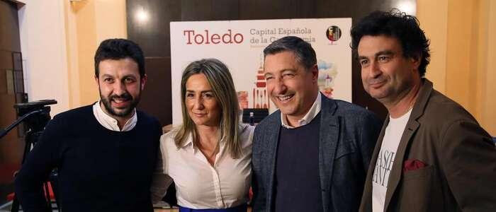 """Imagen: La alcaldesa de Toledo destaca,en la Jornadas Gastroledo, la apuesta del Ayuntamiento por """"consolidar Toledo como ciudad gastronómica"""""""