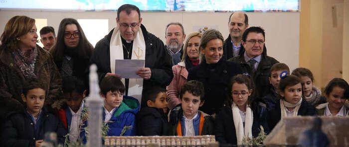 La ruta 'La ciudad de los belenes' de Toledo se completa con la inauguración de los nacimientos del Ayuntamiento y San Marcos