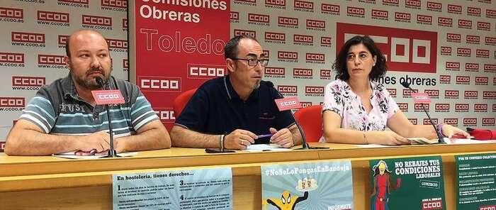 CCOO-CLM denuncia la explotación laboral de miles de trabajadores temporales del comercio y la hostelería durante el verano