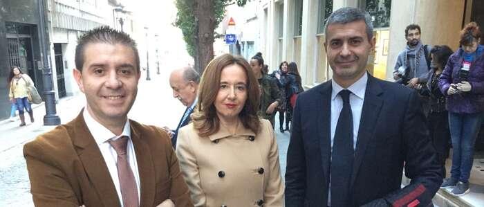Monroy representa en Badajoz a la Diputación en la Conferencia de Presidentes de Gobiernos Provinciales