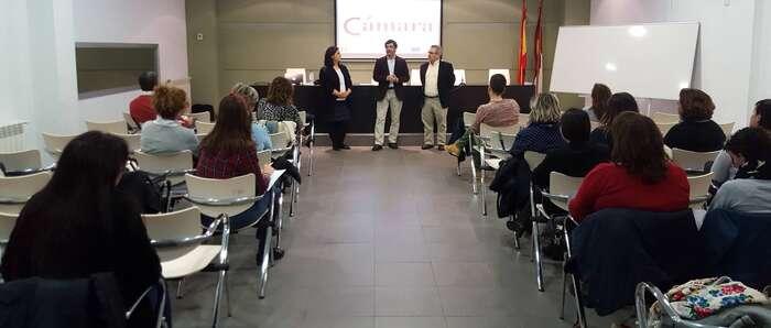 La Cámara de Comercio y el Ayuntamiento de Alcázar de San Juan forman en escaparatismo a una veintena de profesionales del sector comercial