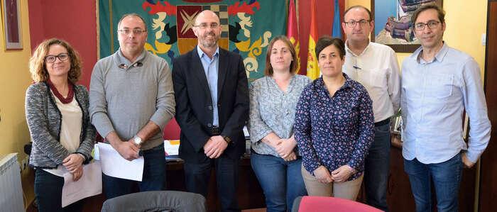 Firmados los acuerdos de colaboración del Ayuntamiento de Argamasilla de Alba con las cinco Ampas de la localidad