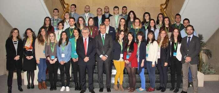 La Fundación Caja Rural Castilla-La Mancha forma a 35 jóvenes para retener el talento en la región