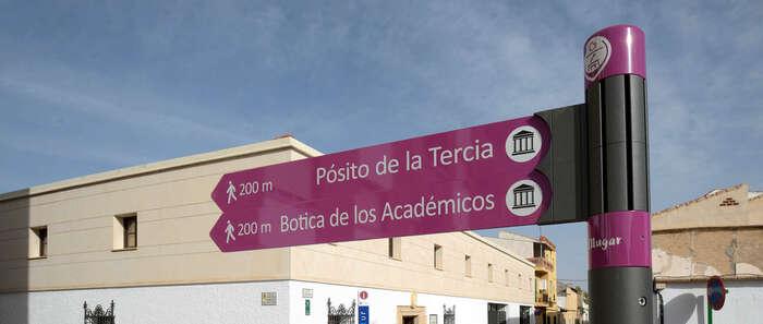 Argamasilla de Alba sigue apostando por el turismo con la instalación de una nueva señalística peatonal