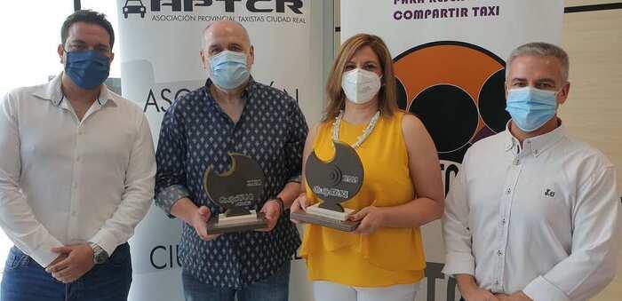Entregados los premios 'Quijotaxi' 2020 de la Asociación Provincial de Taxistas (APTCR)