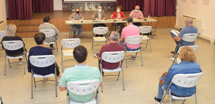El Consejo Local de la Salud de Argamasilla de Alba se reúne con la COVID-19 como principal tema del orden del día