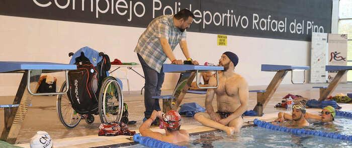 Un total de 16 jóvenes de la Selección española de natación adaptada se concentran en Toledo gracias al convenio 'Somos Deporte +'