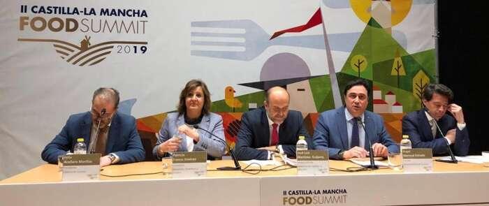 Mariscal destaca en el II Food Summit 2019 la calidad de los productos agrícolas y ganaderos de  Castilla-La Mancha