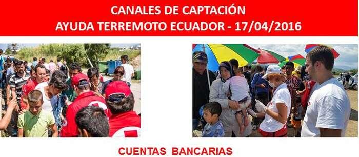 Imagen: Cruz Roja Española lanza un llamamiento para ayudar a las víctimas del terremoto en Ecuador