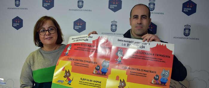 """Medio Ambiente y """"La Bienvenida"""" de Ciudad Real lanzan una campaña de sensibilización animal por Navidad"""
