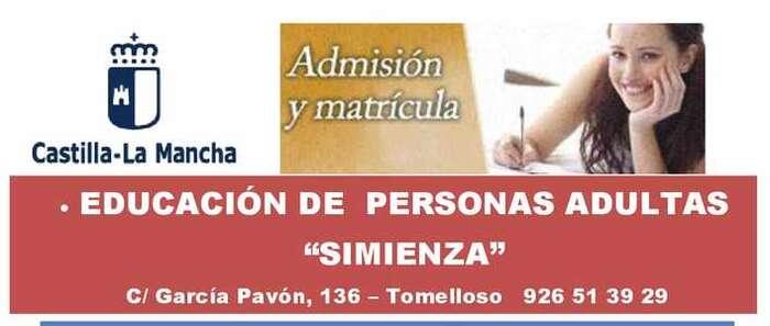 Ya está abierto el plazo de inscripción para el curso de Educación para Personas Adultas 2018-2019 en Socuéllamos, que permite obtener el título de graduado de la ESO