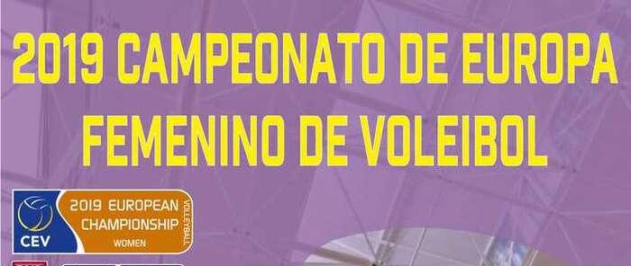 El miércoles, 9 de enero, en el Multiusos, encuentro España - Letonia  de Voleibol Femenino