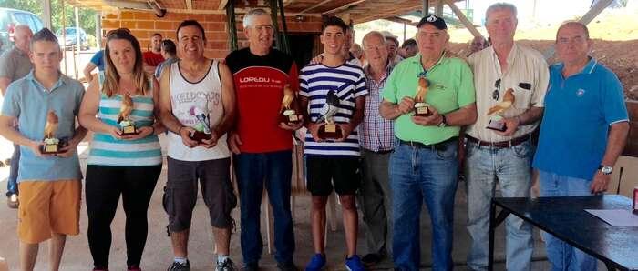 Álvaro Espinosa, campeón provincial de caza de Palomas a Brazo