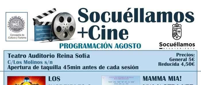 La programación cultural de Socuéllamos sigue adelante tras la Feria y Fiestas con el cine y la música como principales ofertas