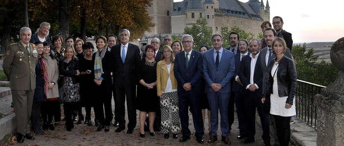 Mariscal asiste en Segovia al segundo encuentro europeo de Asociaciones de Patrimonio Mundial