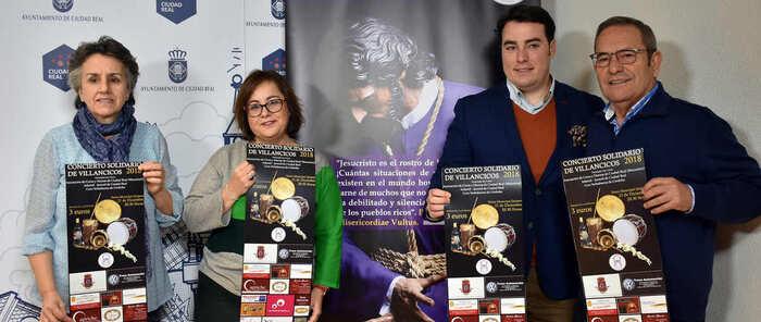 La Hermandad de Nazareno de Ciudad Real organiza un concierto  de villancicos para ayudar a niños con necesidades
