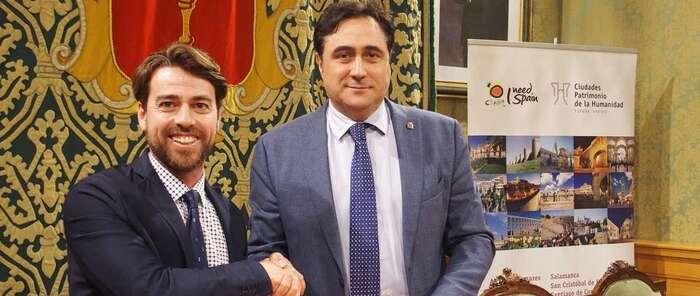 El grupo de ciudades patrimonio firma un convenio de colaboración con la red española de albergues juveniles
