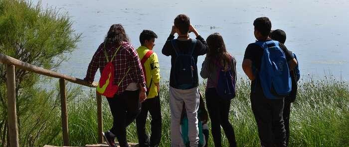 Con la visita a los humedales de Pedro Muñoz finaliza el Programa de Educación Medioambiental que el Ayuntamiento de Socuéllamos ha implantado en los colegios