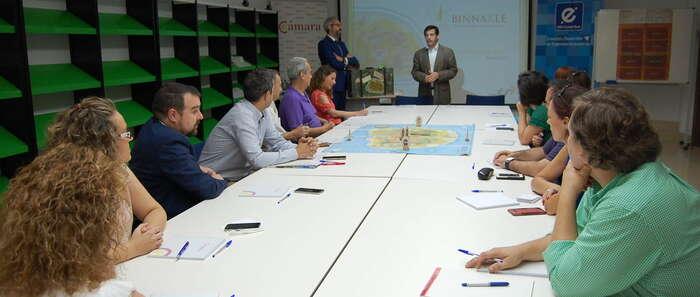 Cámara, CEEI y Diputación apuestan por la potenciación del enoturismo en la provincia