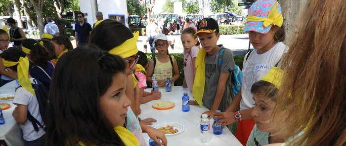 Las actividades infantiles de Fercam hacen las delicias de los menores de la Escuela de Verano