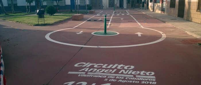 """Villafranca inaugura el circuito """"Ángel Nieto 12+1"""" en su Fiesta del Motor"""