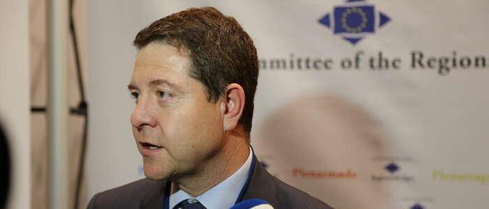 Imagen: El presidente García-Page promocionará en Bruselas el IV Centenario de Cervantes y defenderá el apoyo de la UE al medio rural regional