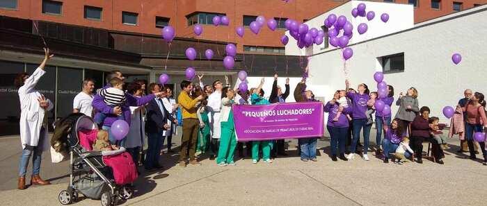 La Asoc. de Familias de Prematuros `Pequeños Luchadores´ celebra su primer  Día Mundial del Prematuro con actividades por toda la capital