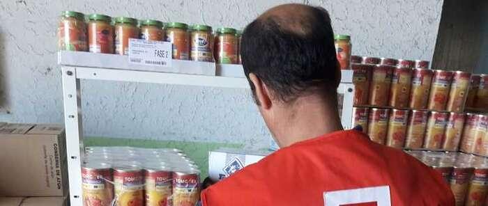 Cruz Roja distribuye 209.943,44 kilos de alimentos en la provincia de Ciudad Real