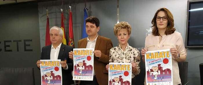 Más de 800 karatecas se darán cita en Albacete este fin de semana en el Campeonato Nacional Infantil