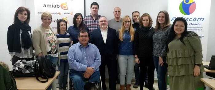 AIDISCAM CLM pone en marcha el proyecto crea en Toledo, que insertará en el mercado laboral a 11 personas con discapacidad