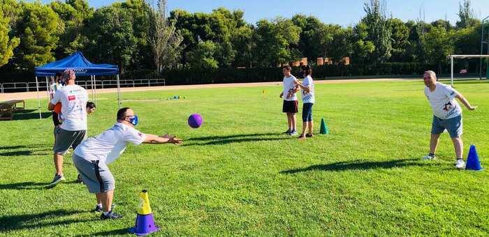 Alcázar celebra el I campus deporte adaptado