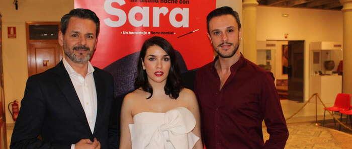 """""""Mi última noche con Sara"""" en Alcázar el día 20, un espectáculo  homenaje a Sara Montiel, en su faceta más personal"""