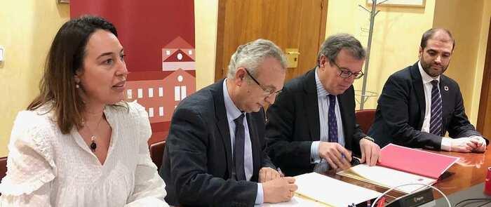 La UCLM y el Colegio de Ingenieros de Caminos, Canales y Puertos colaborarán en investigación, formación y prácticas