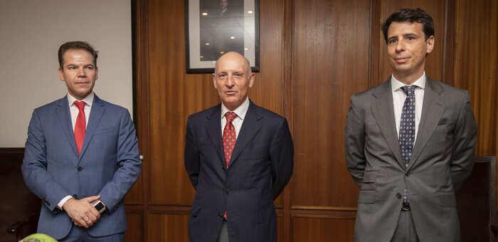 Altos cargos de Justicia visitan el nuevo edificio judicial de Albacete