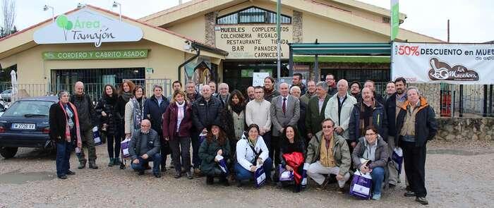 30 medios especializados en turismo descubren la Sierra Norte y los Pueblos Negros de la provincia de Guadalajara
