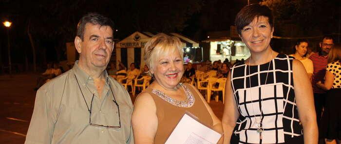 El Santo de Alcázar celebró sus fiestas de barrio que este año fueron pregonadas por Carmen Jiménez