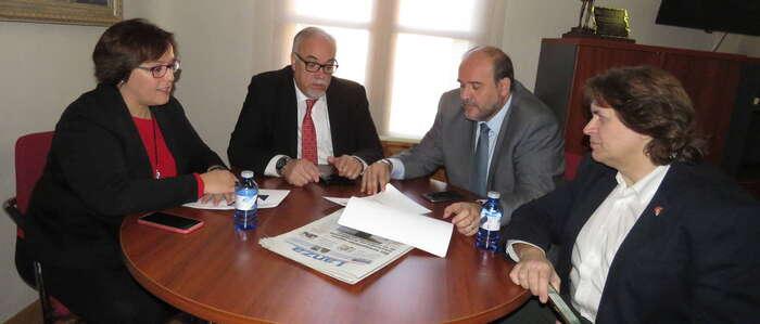 Gobierno Regional y Ayuntamiento apuestan por Manzanares como desarrollo industrial