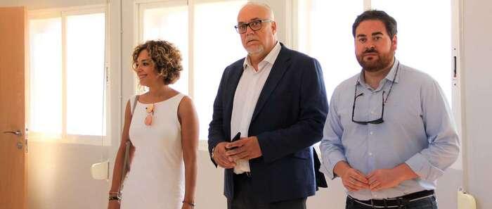 La nueva sede municipal de la Asociación de Vecinos 'Divina Pastora' de Manzanares, casi a punto